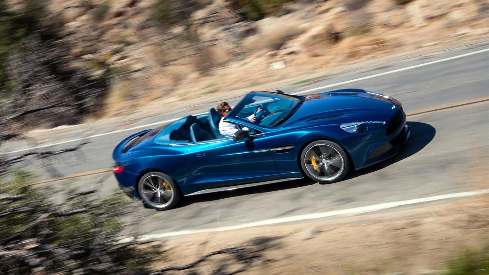 Aston Martin Vanquish Volante, puro arte a cielo descubierto