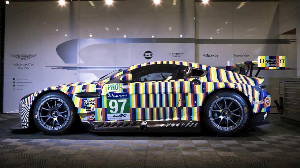 Aston Martin Vantage GTE Rehberger, arte y color para Le Mans 2015