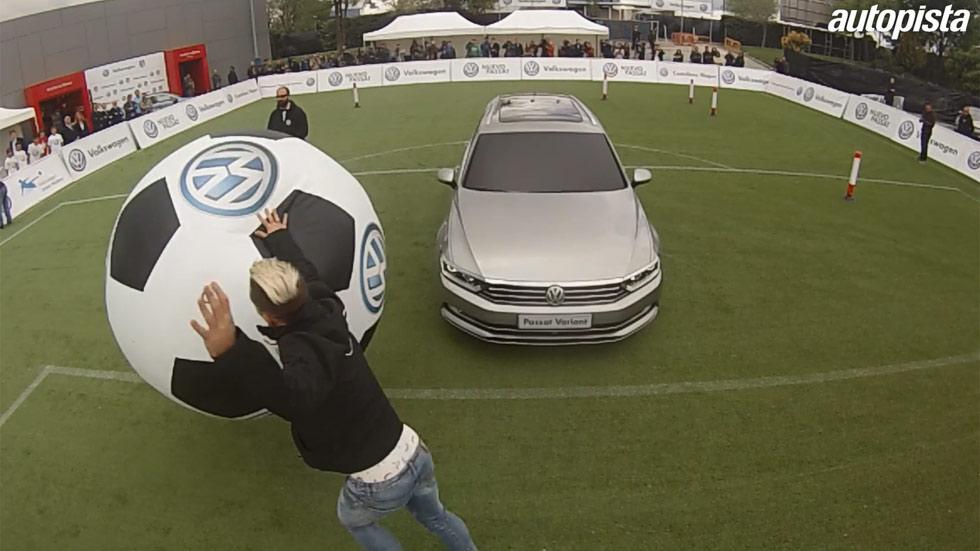 Vídeo: así marcan gol los jugadores del Atlético con el nuevo Passat
