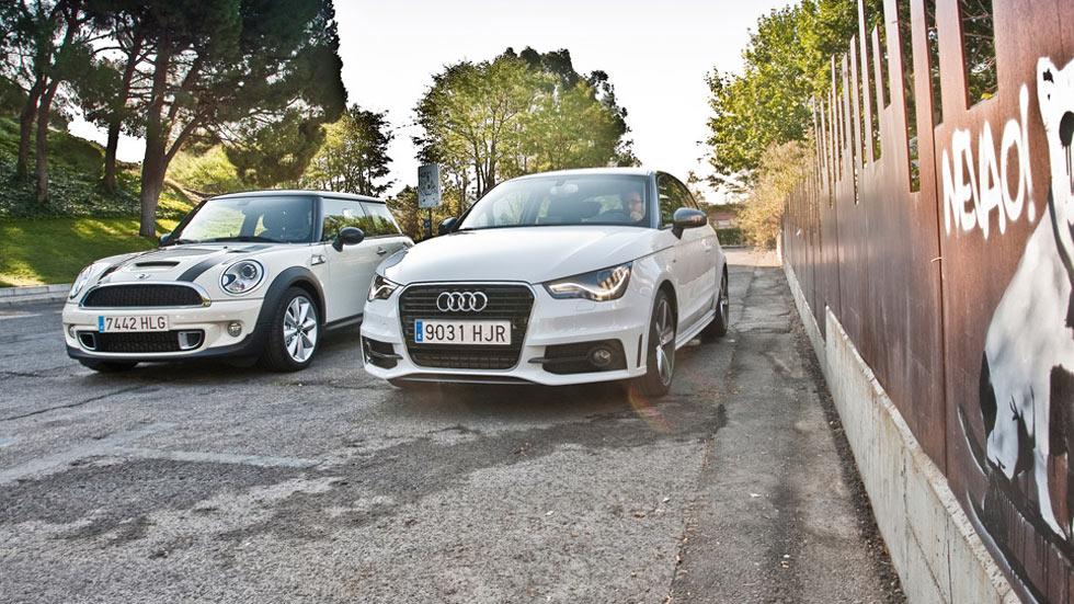 Comparativa: Audi A1 2.0 TDi vs Mini Cooper SD