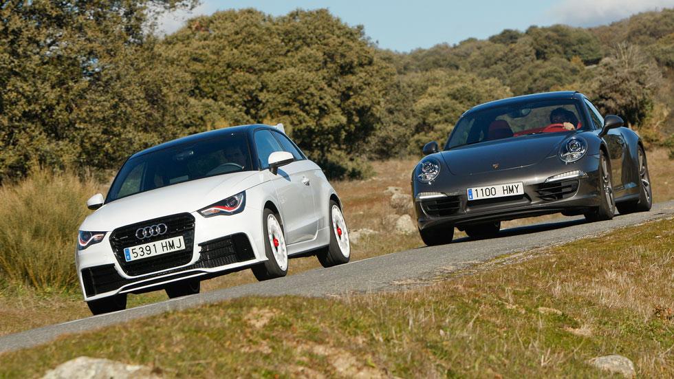 Comparativa: Audi A1 quattro vs Porsche 911 Carrera 4S PDK
