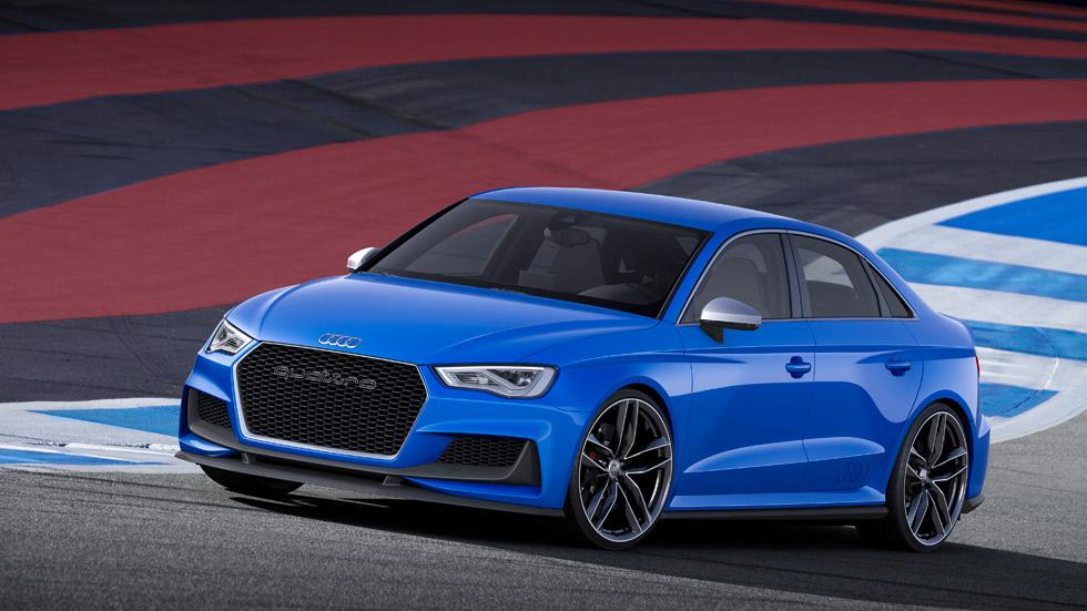 Audi A3 Clubsport Quattro Concept, 525 CV de puro espectáculo