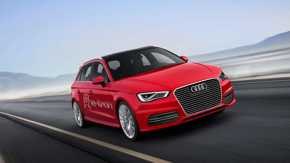 Audi A3 e-tron: 1,5 litros cada 100 km y 222 km/h