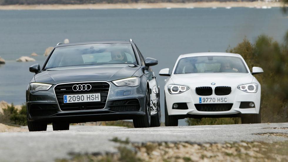 Audi A3 Sportback 2.0 TDI 184 quattro S-tronic vs BMW 120d 184 xDrive 5p