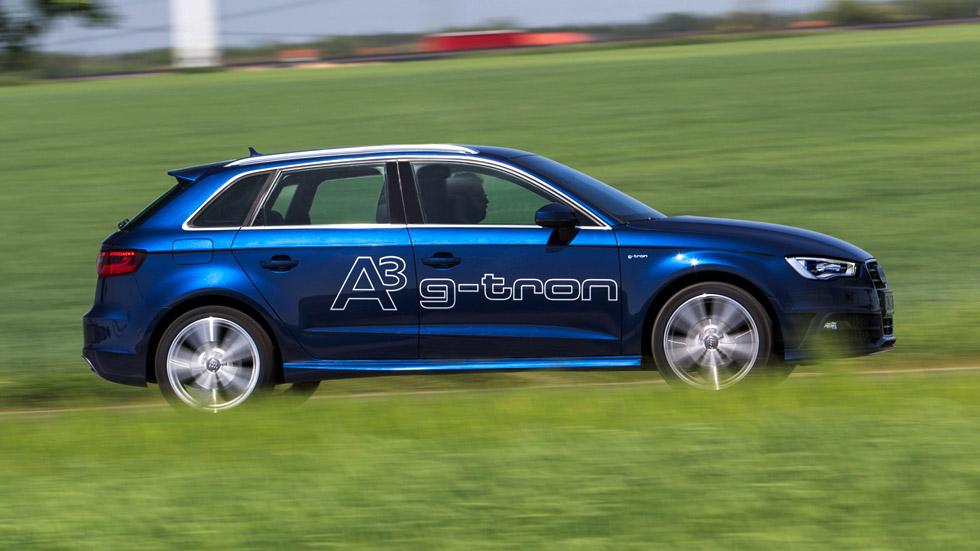 Audi A3 Sportback g-tron: ¡a todo gas!