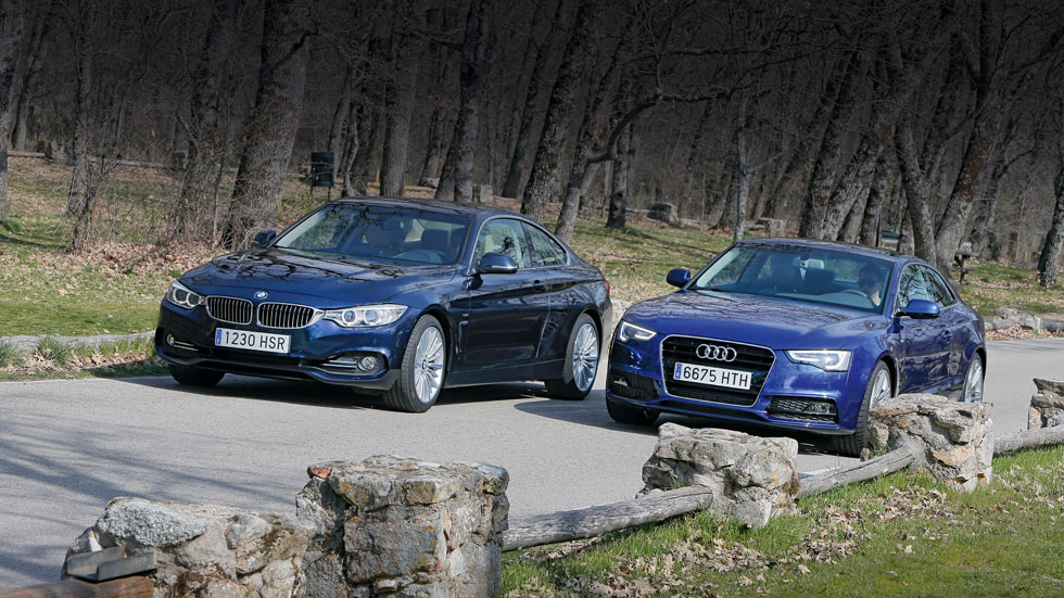 Comparativa: Audi A5 2.0 TFSI vs BMW 428i Coupé, venganza bávara