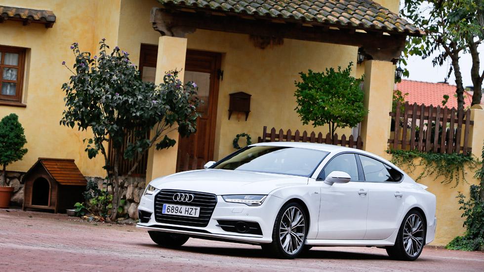 Prueba: Audi A7 Sportback 3.0 TDI Ultra, 6 cilindros de eficiencia