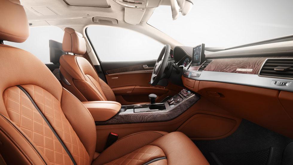 Audi A8 L W12 Exclusive Concept, interior más lujoso