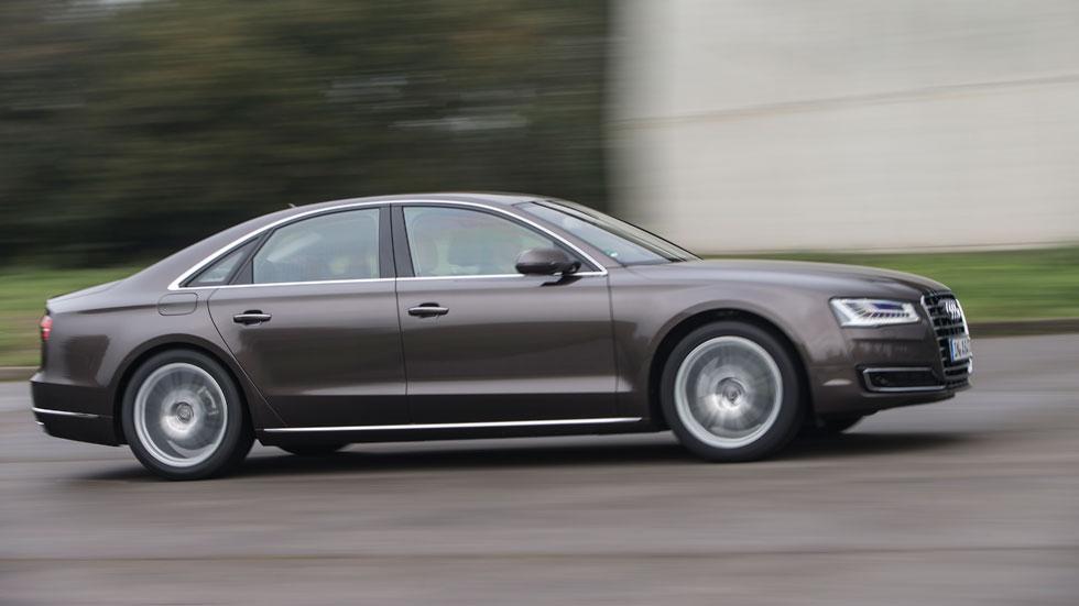 Contacto: Audi A8, más eficiente y tecnológico
