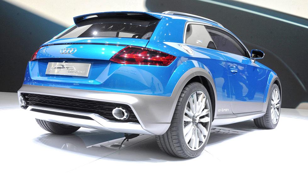 Audi Allroad Shooting Brake Show Car, ¿nuevo Q2?