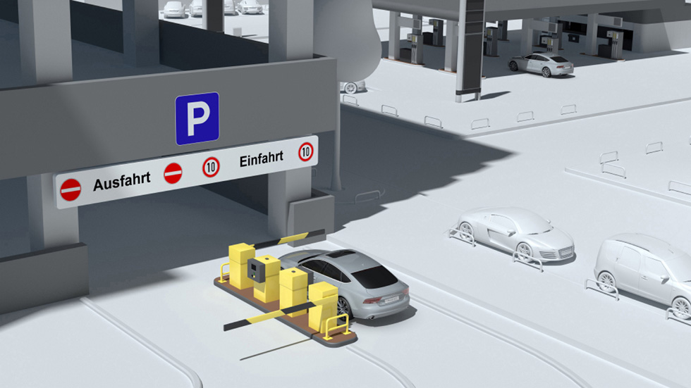 Audi Connect Wireless Payment: el pago remoto en parkings