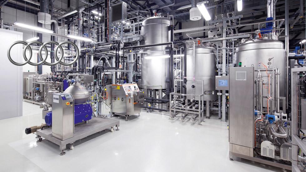 Audi y Global Bioenergies: en busca de la 'e-gasolina'