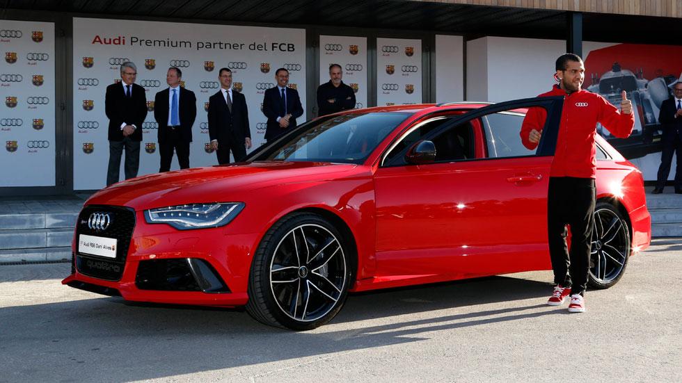 Audi entrega los coches a los jugadores del Barça, ¿quién estrena nuevo modelo?