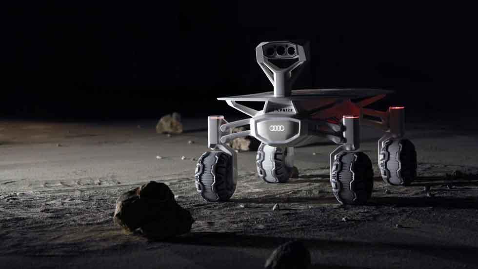 Audi Lunar Quattro, el coche que viajará al espacio