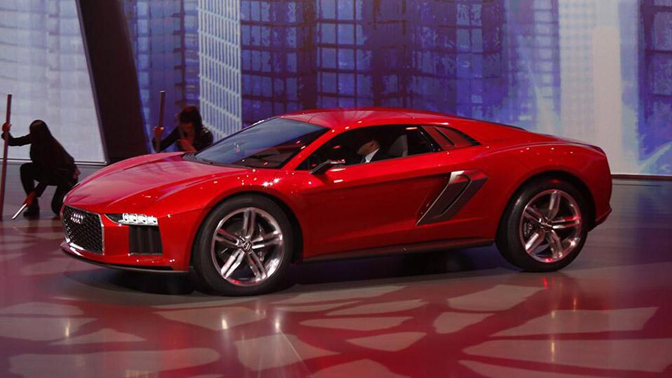 Audi Nanuk Quattro concept, espectáculo futurista
