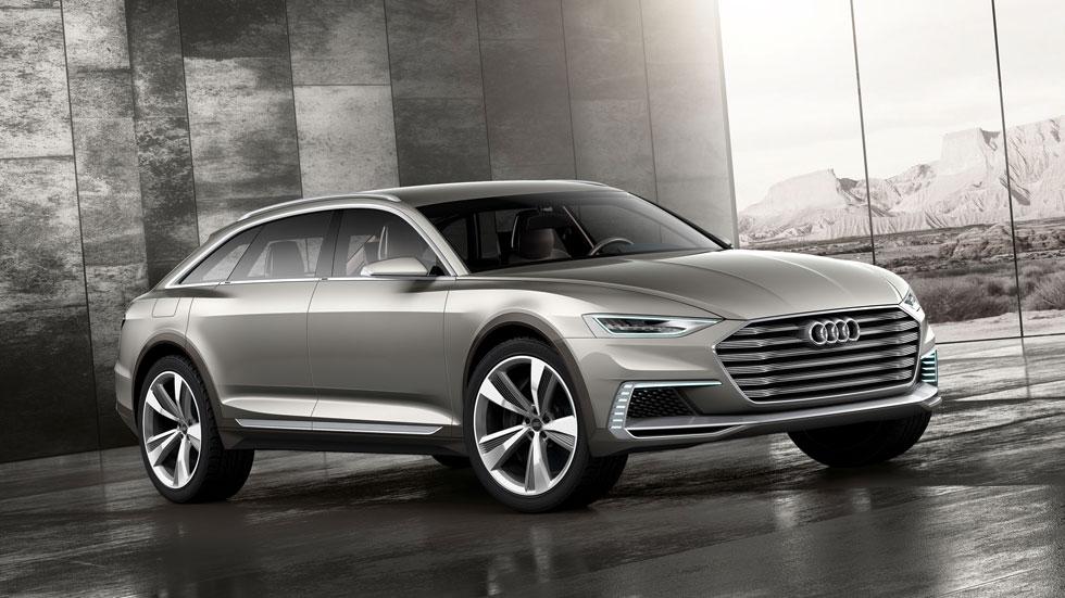 Audi Prologue Allroad: crossover familiar híbrido y enchufable