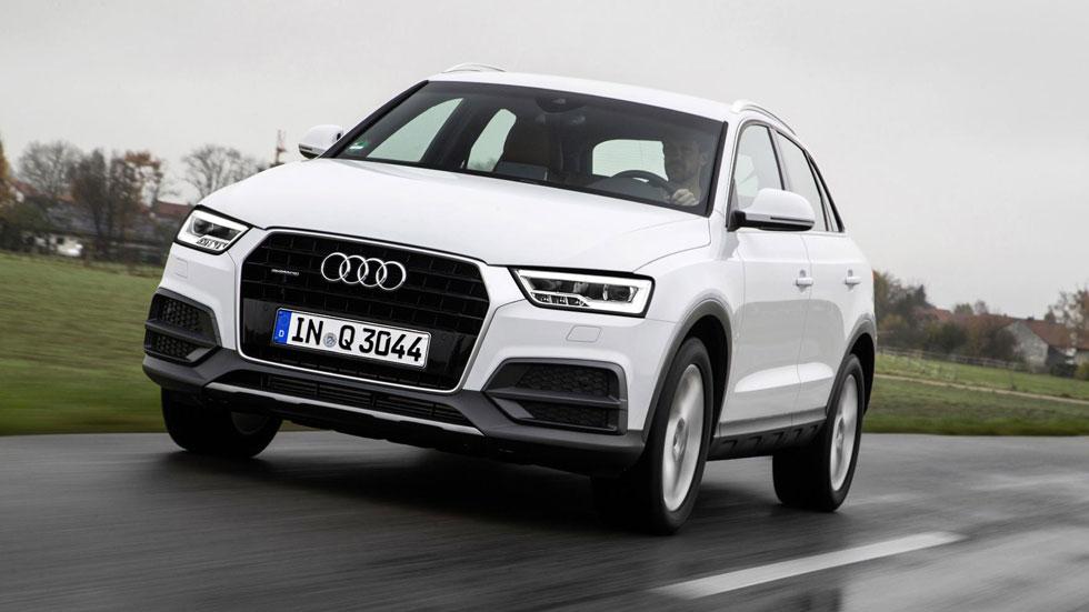 Audi Q3 2015, con mejoras de equipamiento y nuevas ediciones especiales