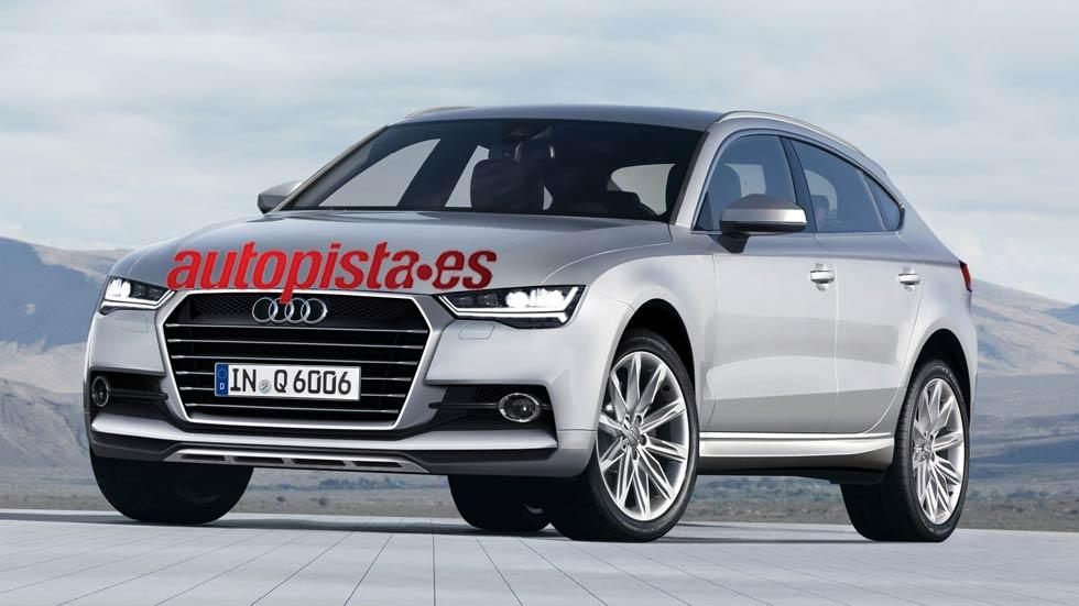 Audi Q6, primera foto y datos