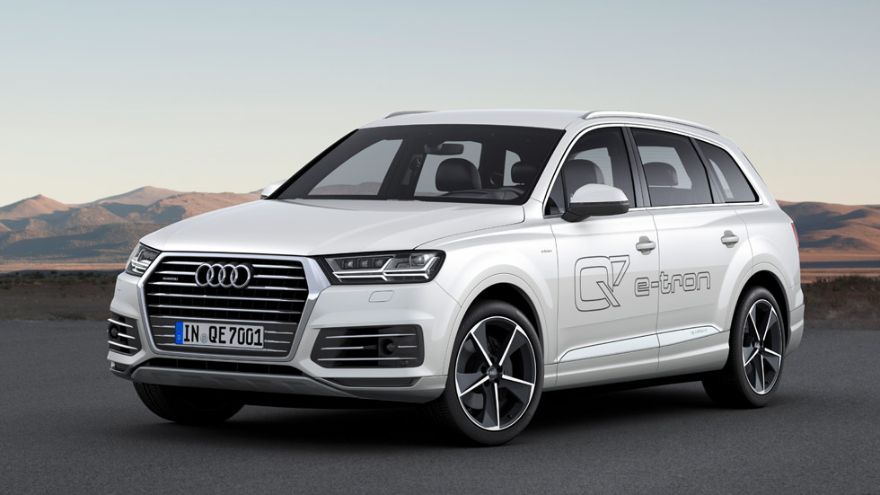 Audi Q7 e-tron 3.0 TDI quattro, estreno en Ginebra