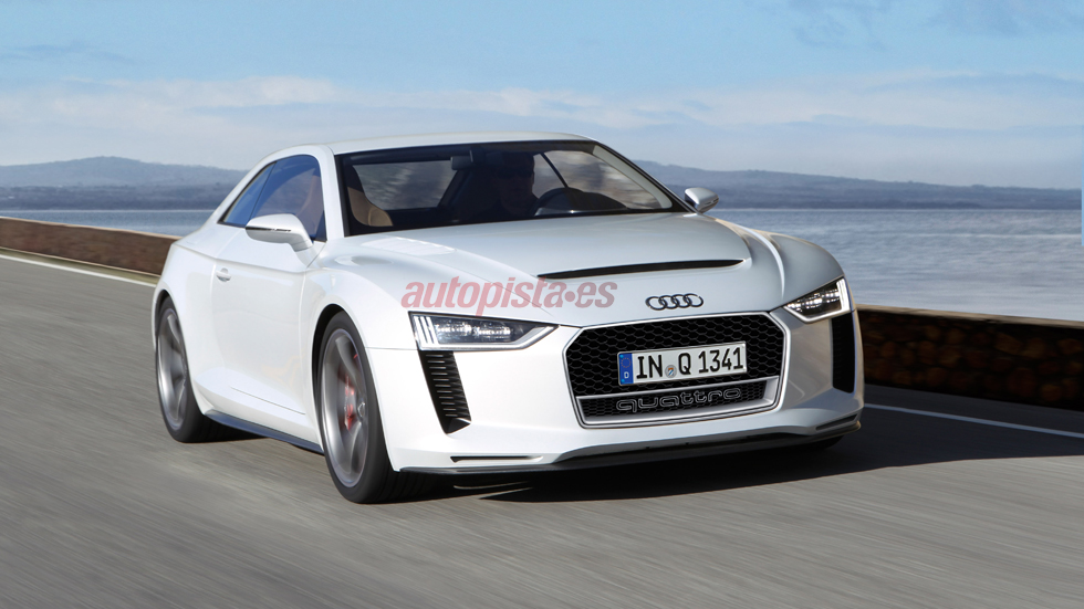 Audi Quattro Concept: el retorno del mito