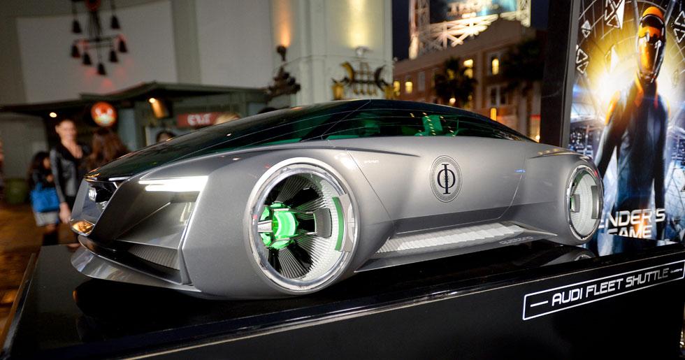 El coche de Harrison Ford en 'El juego de Ender'