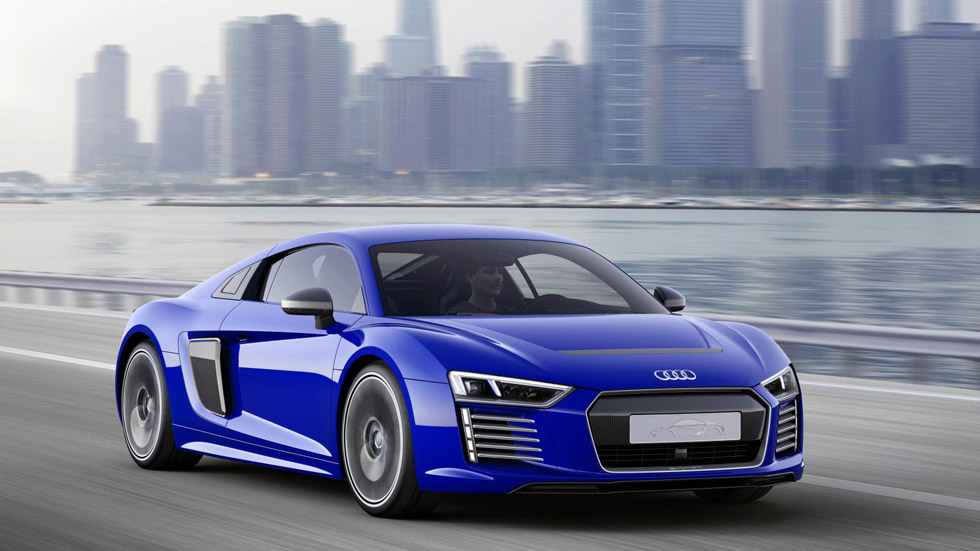 Audi R8 e-tron de conducción autónoma, un todo en uno