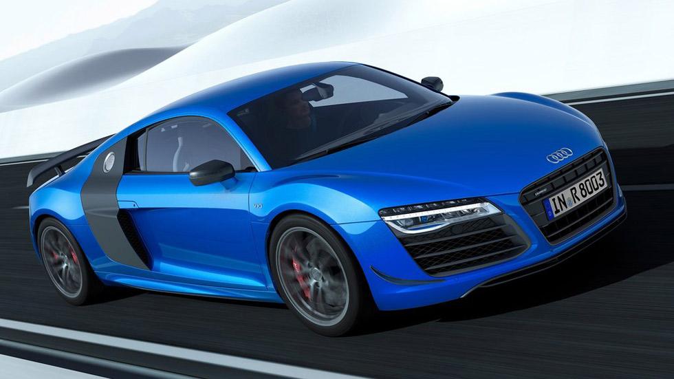 Audi R8 LMX, luz láser y 570 CV
