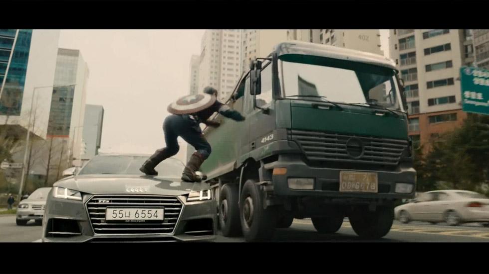 Vídeo: el Audi R8, coche de Iron Man en el último film de Los Vengadores