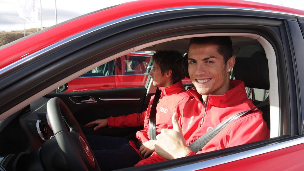 Y los Audi que conducirán los jugadores del Real Madrid son...