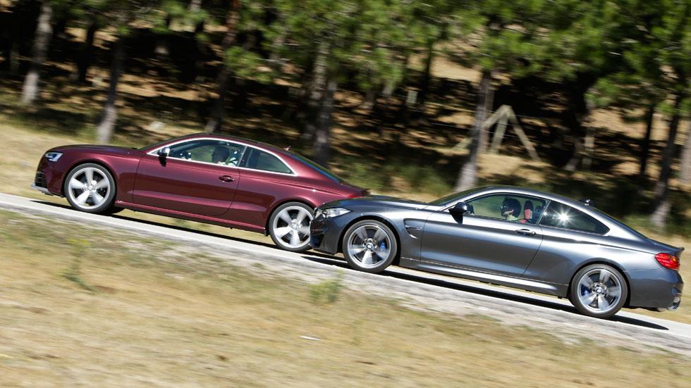 Comparativa: Audi RS5 vs BMW M4