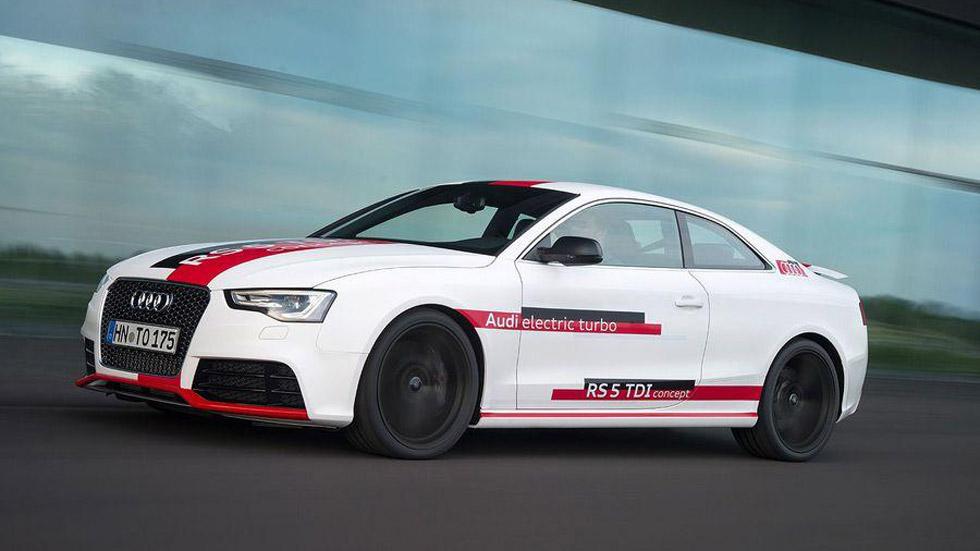 Audi RS5 TDI Concept, el primer RS Diesel