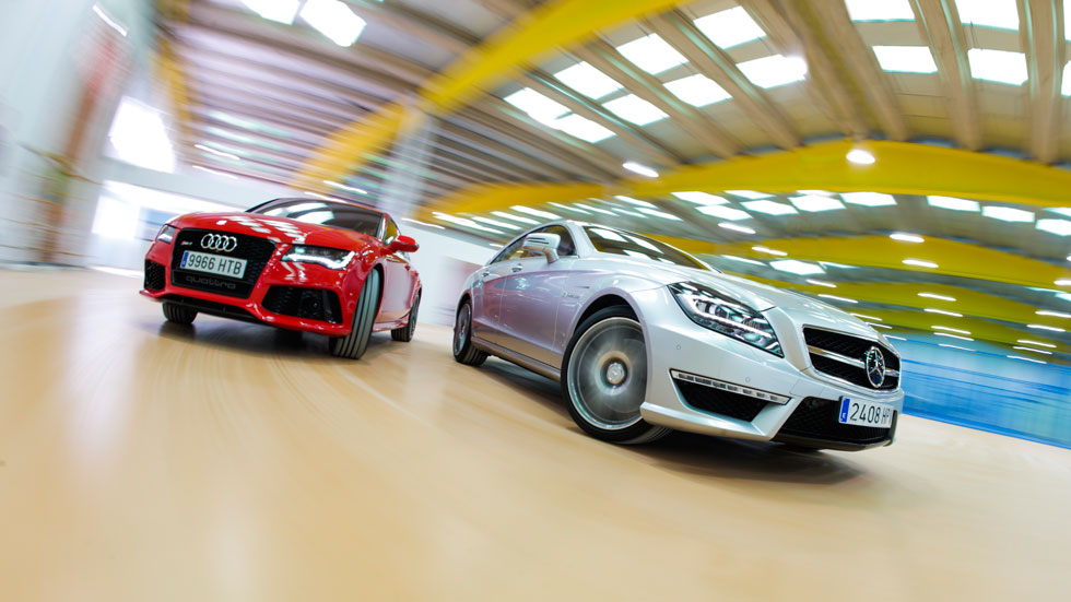 Comparativa: Audi RS7 vs Mercedes CLS 63 AMG, RS contra AMG
