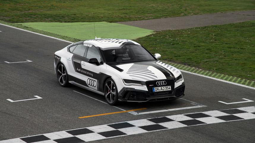 Audi y su RS7 que conduce solo: vídeo, fotos y detalles