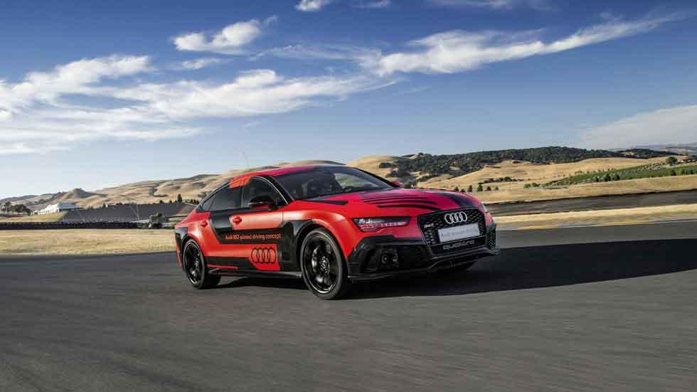 Audi RS 7 autopilotado, más rápido que un piloto de carreras