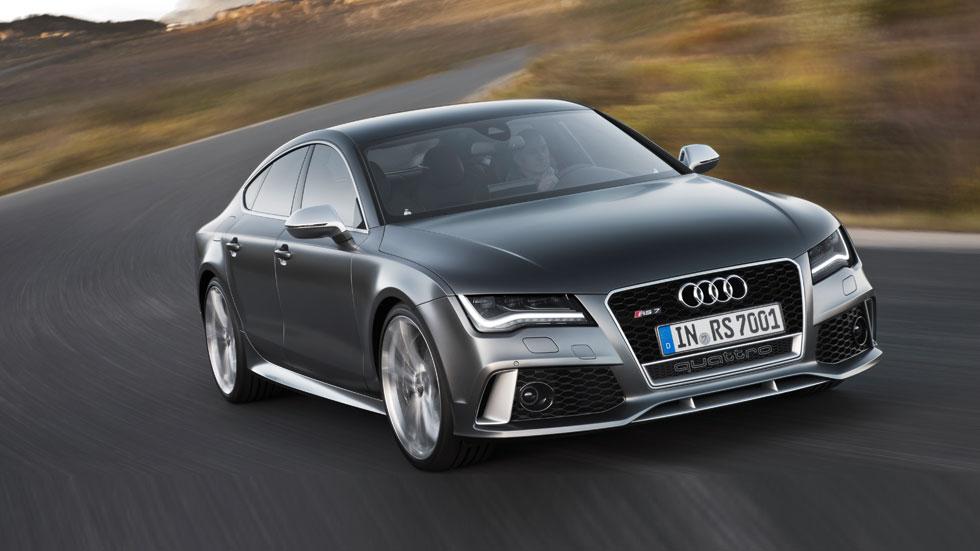 Contacto: Audi RS7, sígueme... si puedes