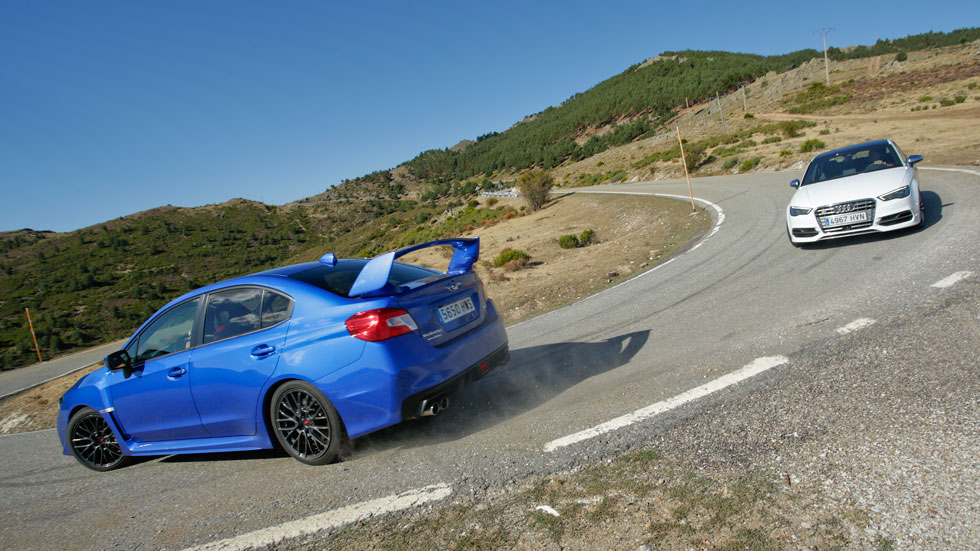 Comparativa: Audi S3 Sedán S-tronic vs Subaru WRX STi