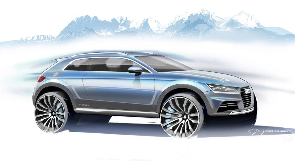 Audi Show Car Allroad, ¿el nuevo Q2?