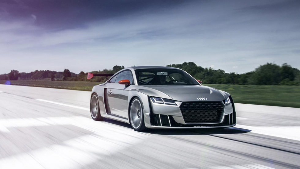 Audi TT clubsport concept, con biturbo eléctrico