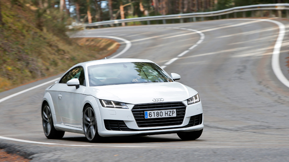 Prueba: Audi TT Coupé 2.0 TDI Ultra, placer para los sentidos