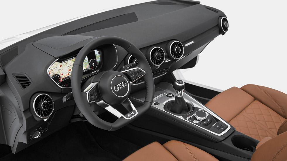 El interior del nuevo Audi TT se descubre en Las Vegas