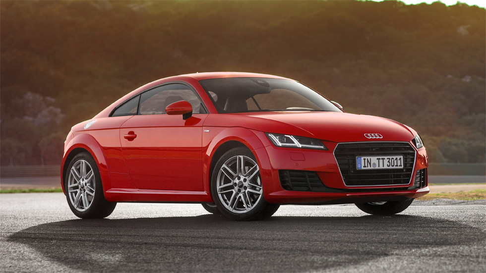 Audi TT 1.8 TFSI 180 CV, nueva versión de acceso