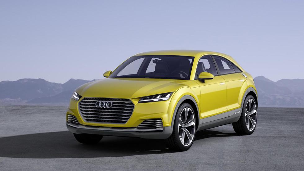 Audi TT Offroad Concept, el SUV coupé más deportivo