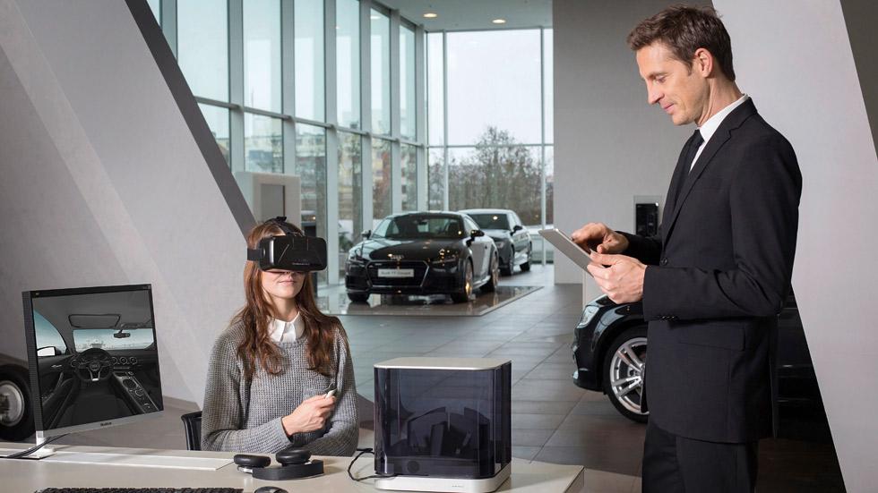 Audi VR Experience: configura tu coche con realidad virtual