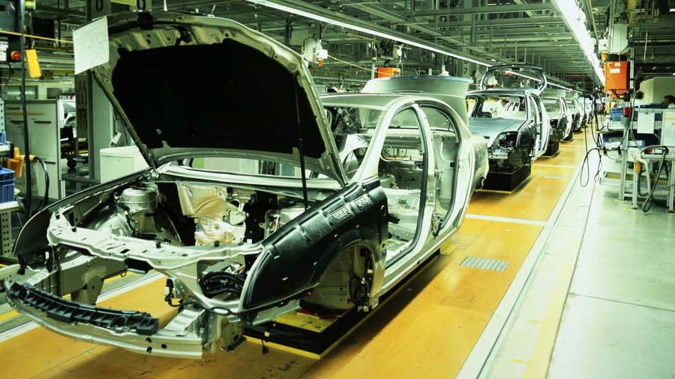 Aumenta la producción de coches en España