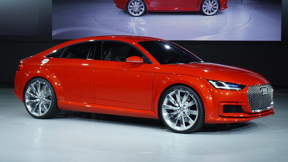 Audi TT Sportback Concept, rompe las reglas