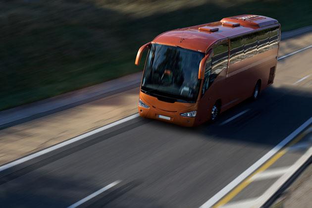 Los autobuses piden circular a 110 km/h