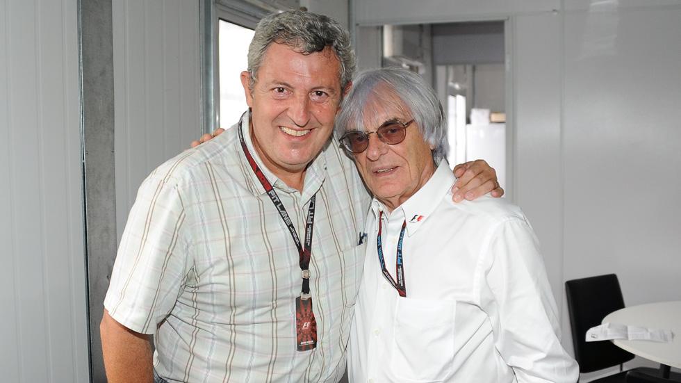 Bernie Ecclestone: 'Soy un gran fan de Vettel'