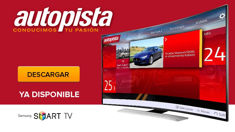 AUTOPISTA llega a tu televisión: nueva aplicación para Smart TV