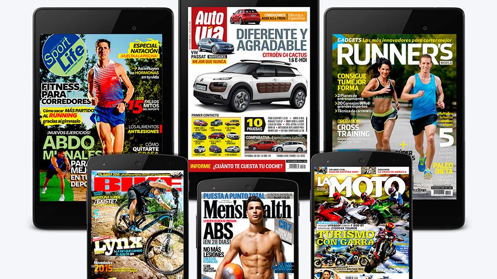 AUTOVÍA y otras seis revistas de Motorpress Ibérica ya disponibles el nuevo Kiosco de Google Play