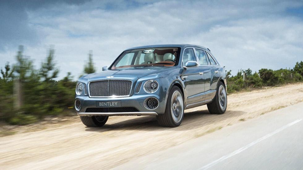 Bentley Bentayga, el nuevo SUV de gran lujo, a la venta en 2016